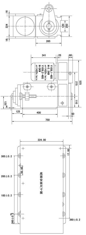 1tx25动力头结构图